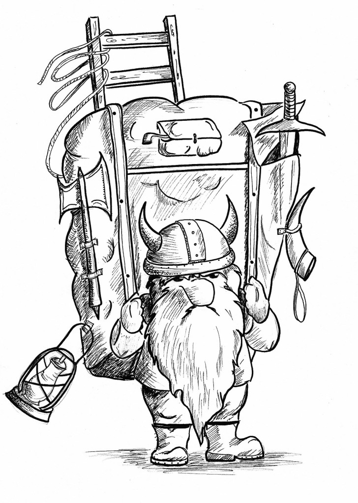 Our Mascot, Oger the Dwarf