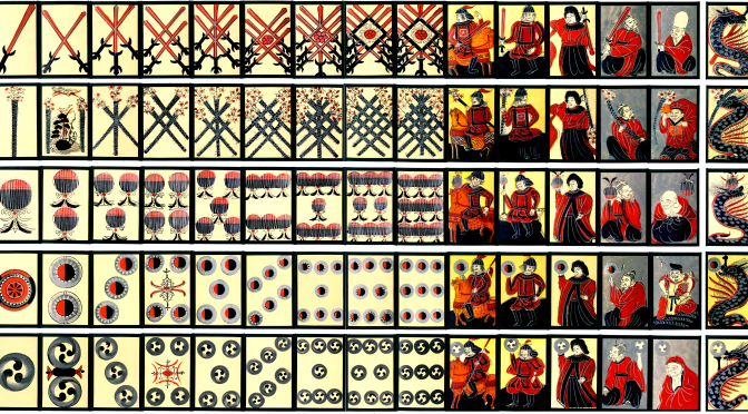 The suits of Chinese Playing cards