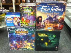 Wide selection of board games