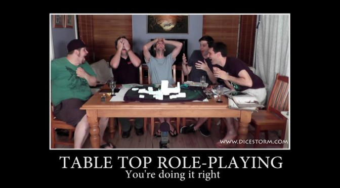 Role playing game session
