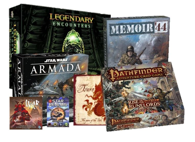 Great board and card games
