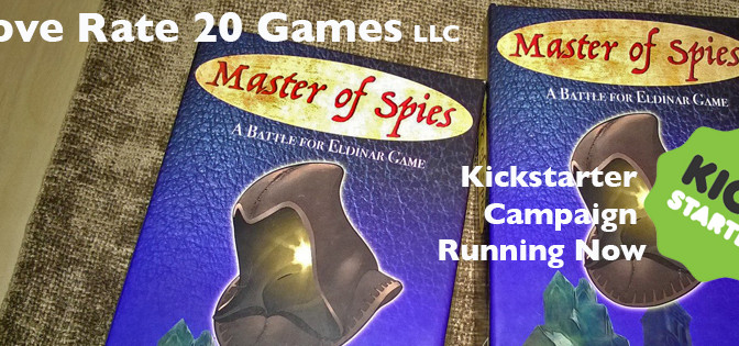 Indie tabletop game on Kickstarter