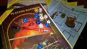 Dungeons & Dragons RPG games