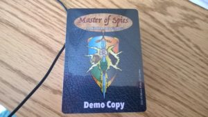 Master of Spies Card game